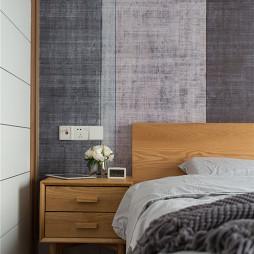 简约北欧卧室设计图