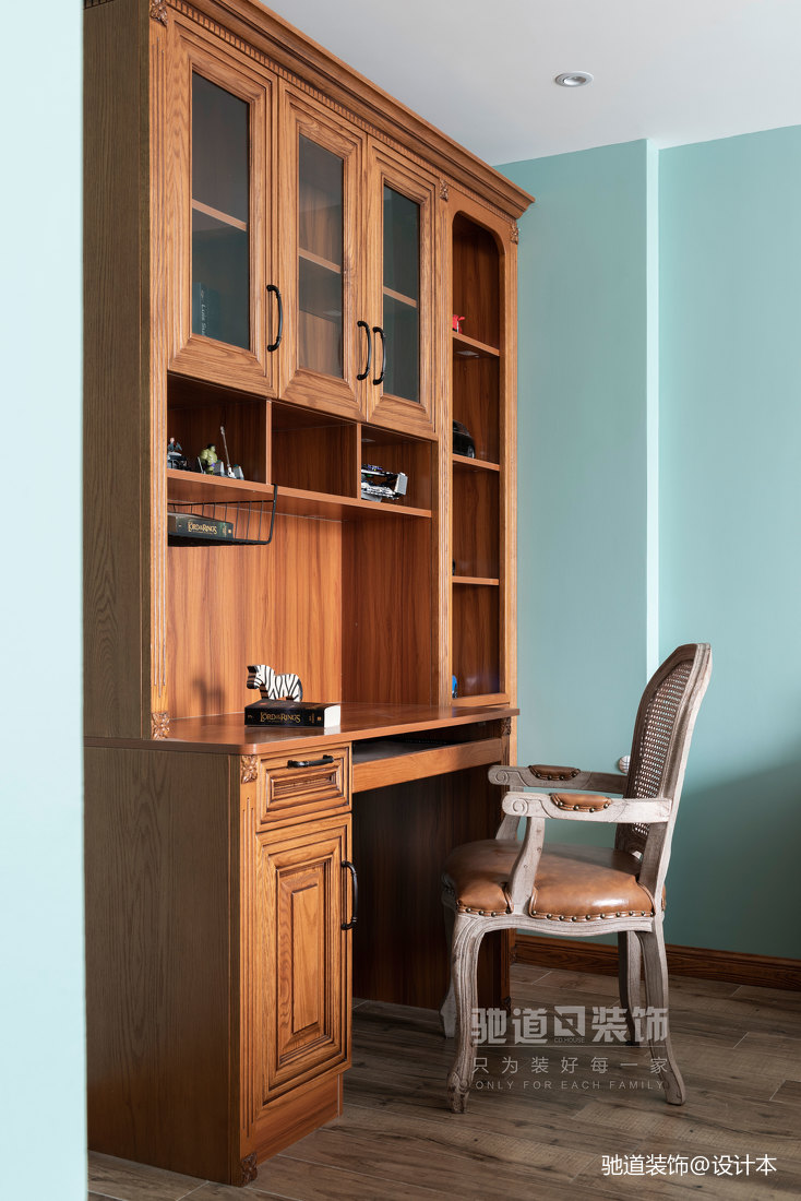 法式风格卧室设计实景图