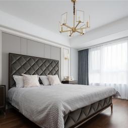美式轻奢主卧室设计