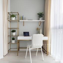 简洁休闲风书房设计