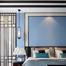 低奢中式卧室吊灯设计图