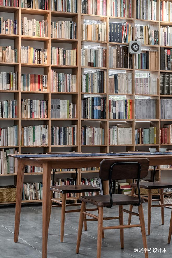 器曰书坊阅读区设计图
