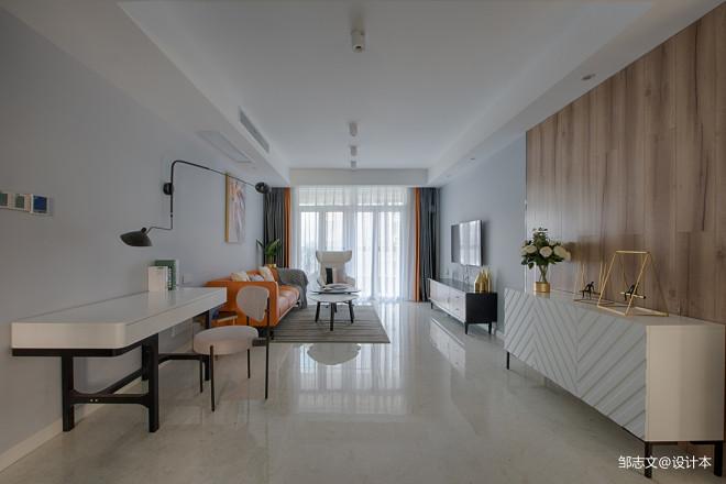 简洁现代客厅设计