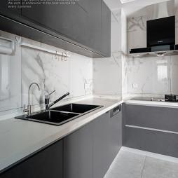 现代北欧厨房图片