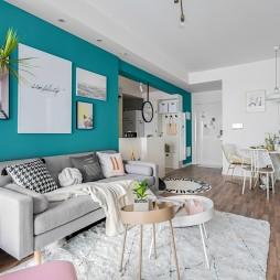 Colorful北欧客厅沙发图片