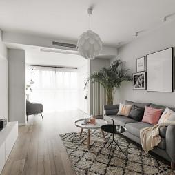 北欧小户型客厅沙发图片