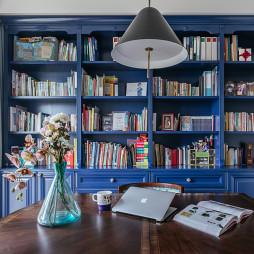 美誉美式书房书柜设计图