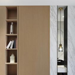 【东荷逸品】清欢现代书柜设计图