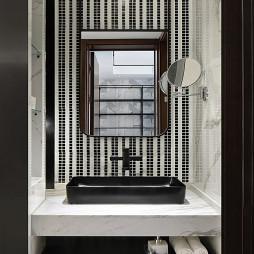 【东荷逸品】清欢现代卫浴洗手台实景图