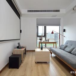 日式三居客厅实景图