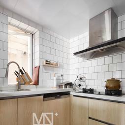 75平方北欧厨房设计图