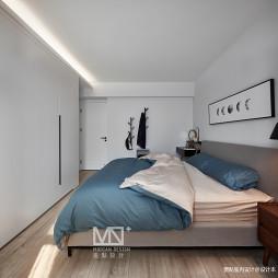 75平方北欧主卧室设计图