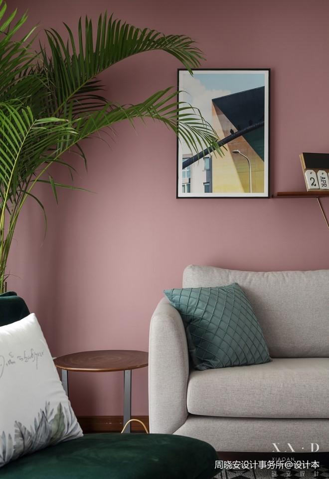 北欧风精装房客厅设计图