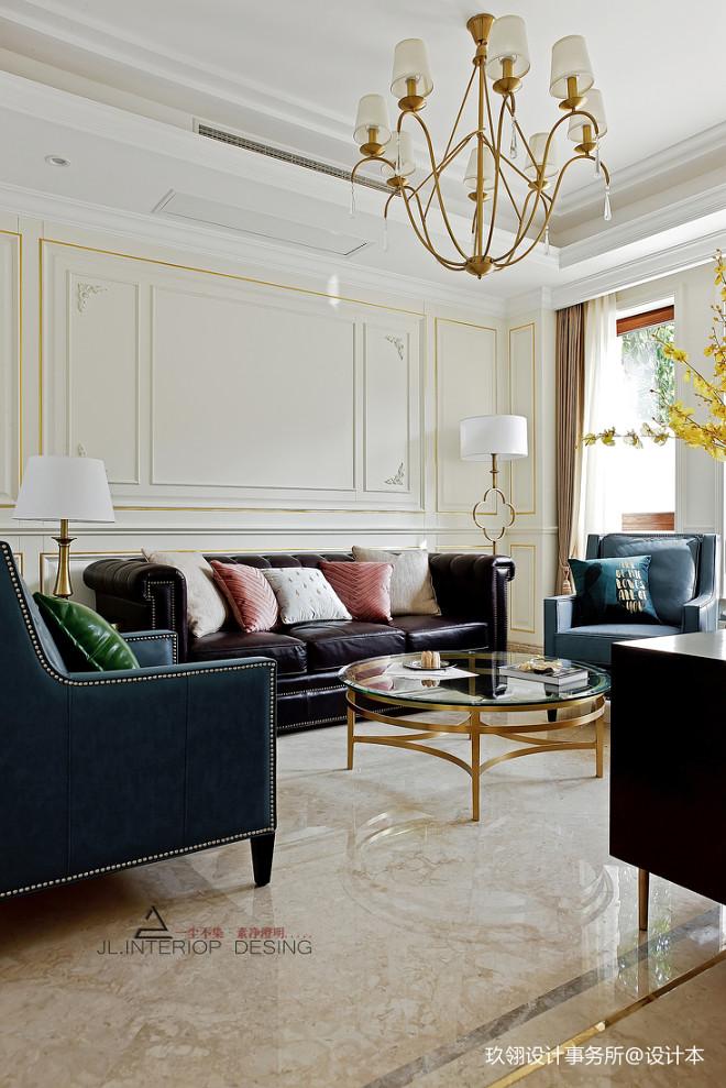 法式别墅客厅吊灯设计图