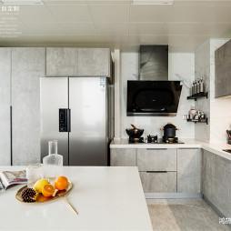 .美式轻奢厨房设计图
