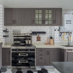 北欧小清新厨房设计图片