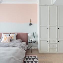 北欧小清新卧室衣柜设计