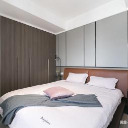 碎色现代卧室设计图