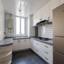 精致浪漫北欧厨房设计图