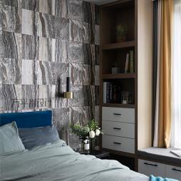 北欧卧室展示柜设计图