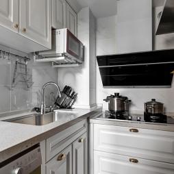 三居简约风厨房设计图