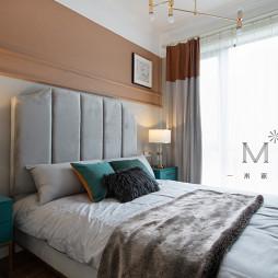 155㎡现代美式卧室设计图
