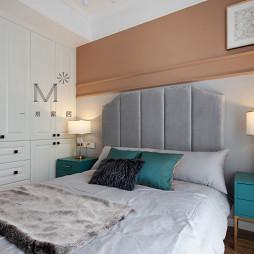 155㎡现代美式卧室图片