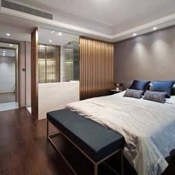 现代四居卧室图片