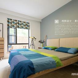 小户型北欧主卧室设计图