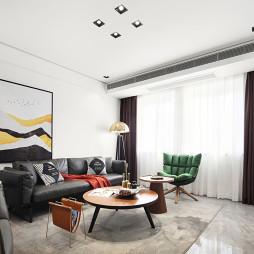 质感现代客厅设计图