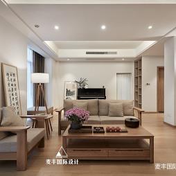 日式北欧客厅图片