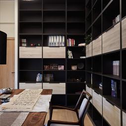 日式北欧书房设计图