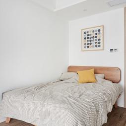 木色北欧卧室设计图
