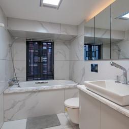 静谧现代卫浴设计图片