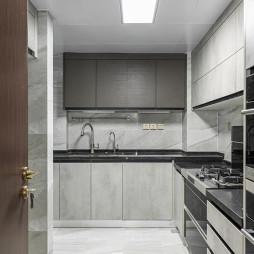优雅现代复式厨房设计图