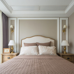 美式别墅卧室床头灯图片