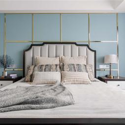 气质美式次卧设计图片