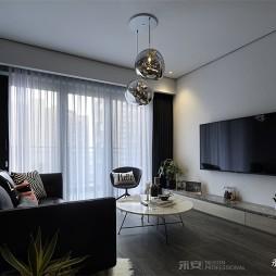 时髦现代客厅吊灯图片