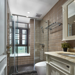 经典美式卫浴设计实景