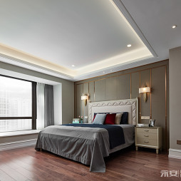 经典美式主卧室设计