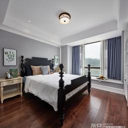 经典美式主卧室设计图片