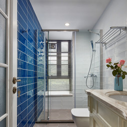 经典美式卫浴实景图片