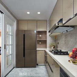 经典美式厨房橱柜设计图