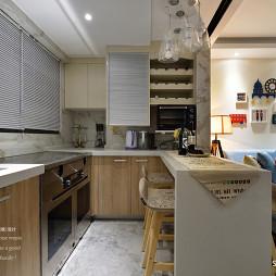 76平loft现代厨房设计图