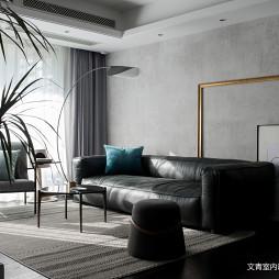 混搭风精装客厅沙发图