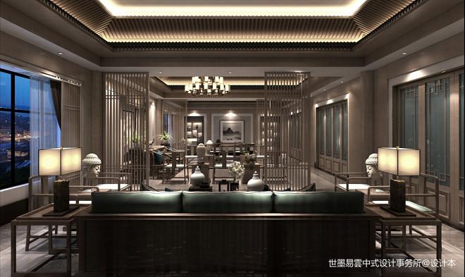 新中式办公——【禅意办公室】_352