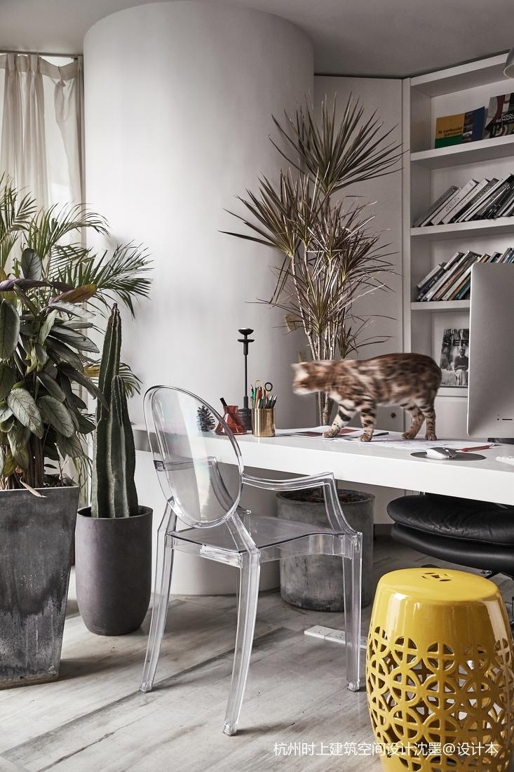 时上建筑空间办公桌设计图