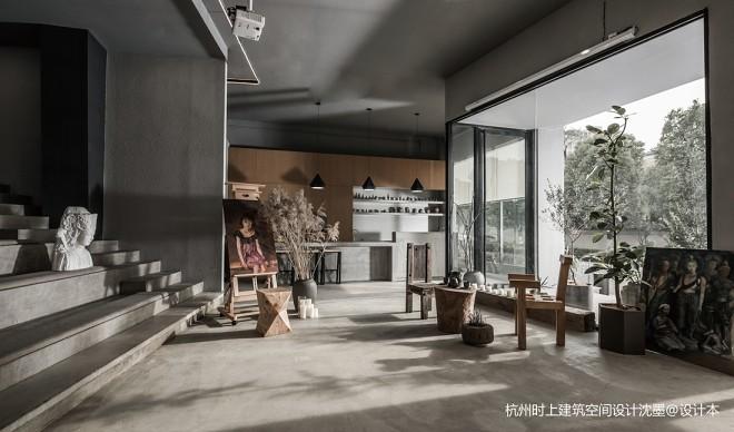 大象艺术馆入口大厅设计图