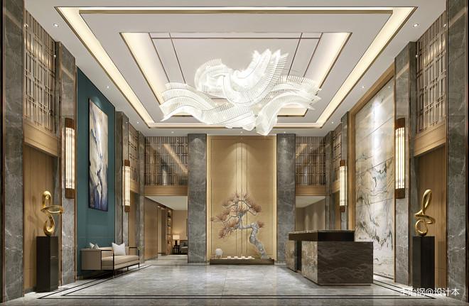 喜尔顿假日酒店设计_3525099