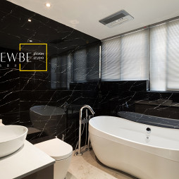loft复式卫浴设计图片